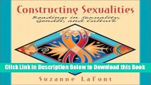 [Best] Constructing Sexualities: Readings in Sexuality, Gender, and Culture Free Books