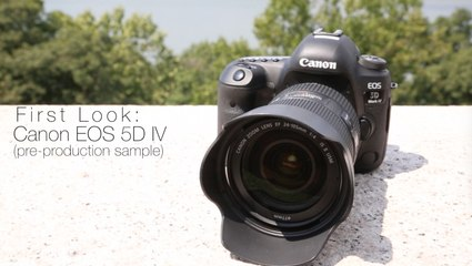 First Look: Canon EOS 5D Mark IV