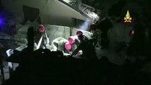 A Amatrice, les pompiers italiens sont intervenus toute la nuit