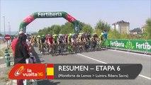 Resumen - Etapa 6 (Monforte de Lemos / Luintra. Ribeira Sacra) - La Vuelta a España 2016