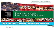 [Download] South-western Federal Taxation 2017: Individual Income Taxes Paperback Collection