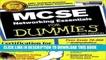 New Book MCSE Networking Essentials For Dummies (For Dummies (Computers)) 2nd edition by