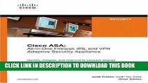 Collection Book Cisco ASA: All-in-One Firewall, IPS, and VPN Adaptive Security Appliance