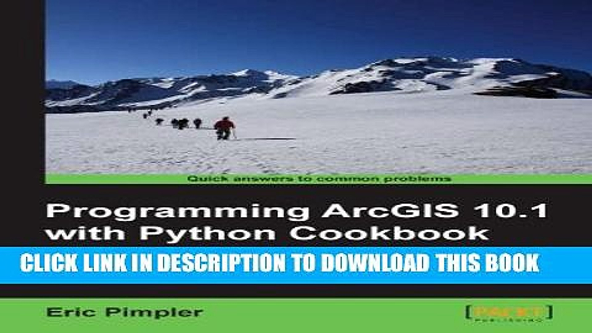 [PDF] Programming ArcGIS 10 1 with Python Cookbook Full Colection