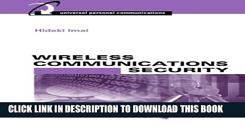 Collection Book Wireless Communications Security