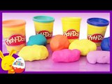 Apprendre les couleurs - Surprises Play Doh pour les enfants - Titounis - Touni Toys