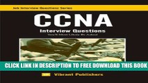 New Book CCNA Interview Questions You ll Most Likely Be Asked (Job Interview Questions Series Book