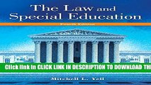 New Book Law and Special Education, The, Enhanced Pearson eText with Loose-Leaf Version -- Access