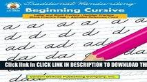 Collection Book Traditional Handwriting: Beginning Cursive, Grades 1 - 3