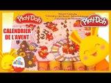 Calendrier de l'avent 2015 Réveillon Noël - Calendrier Play-Doh -Pâte à modeler -Jouet