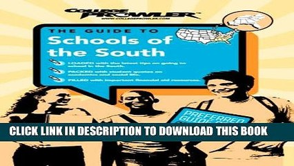 New Book Schools of the South (College Prowler) (College Prowler: Schools of the South)