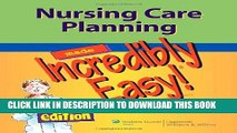 Collection Book Nursing Care Planning Made Incredibly Easy! (Incredibly Easy! Series®)