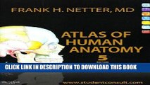Collection Book Atlas of Human Anatomy: with Student Consult Access, 5e (Netter Basic Science)