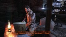Metro Last Light Redux Gameplay - Stealth Kills And  Knife Takedowns