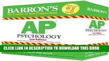 New Book Barron s AP Psychology Flash Cards, 2nd Edition