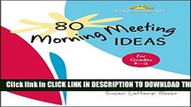 Collection Book 80 Morning Meeting Ideas for Grades K-2