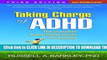 New Book Taking Charge of ADHD, Third Edition: The Complete, Authoritative Guide for Parents