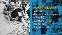 Italia, quando la terra trema. I terremoti più forti dal '1900. aujourdhui 250 morts + de 400 blessés