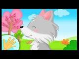 Comptinette à gestes du loup - comptine à gestes - Titounis