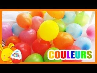 Compétition des couleurs - Apprendre les couleurs avec les ballons surprises - Touni Toys