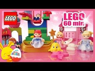 Disney princesse en francais avec les LEGO Duplo pour les petits - Cendrillon, Ariel, Aurore