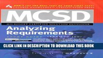 New Book MCSD Analyzing Requirements: Exam 70-100 (MCSD Study Guides)