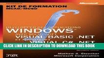 New Book Développer des applications Windows avec Visual basic .NET   Visual C Sharp : Kit de