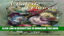 [PDF] A Palette of Flowers: Paint It Simply Concept Lessons Full Collection