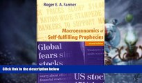 Big Deals  Macroeconomics of Self-fulfilling Prophecies - 2nd Edition  Best Seller Books Best Seller