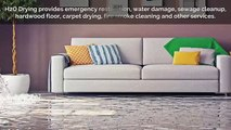 Charlotte Water damage & Fire cleanup Service | H2O Drying Solutions
