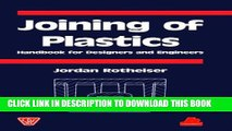 New Book Joining of Plastics: Handbook for Designers and Engineers