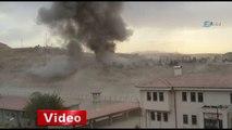 Cizre Emniyet Müdürlüğü binasına bombalı saldırı - İhlas Haber Ajansı