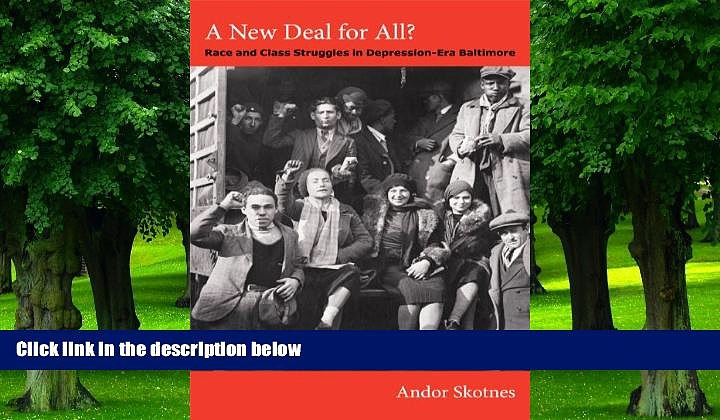 Big Deals  A New Deal for All?: Race and Class Struggles in Depression-Era Baltimore (Radical