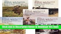 [Reads] The English and Scottish Popular Ballads, 5 Volume Set Online Ebook