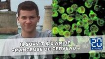A 16 ans, Sebastian survit à l'ultra mortelle amibe «mangeuse de cerveau»