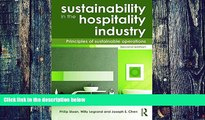 Big Deals  Sustainability in the Hospitality Industry 2nd Ed: Principles of Sustainable