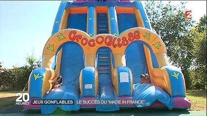Combien coûte un toboggan gonflable pour les parc d'attractions et est-ce rentable ? Regardez
