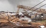 Une violente tornade détruit un chantier en Russie, impressionnant !