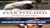 [PDF] The Greatest Game Ever Pitched: Juan Marichal, Warren Spahn, and the Pitching Duel of the