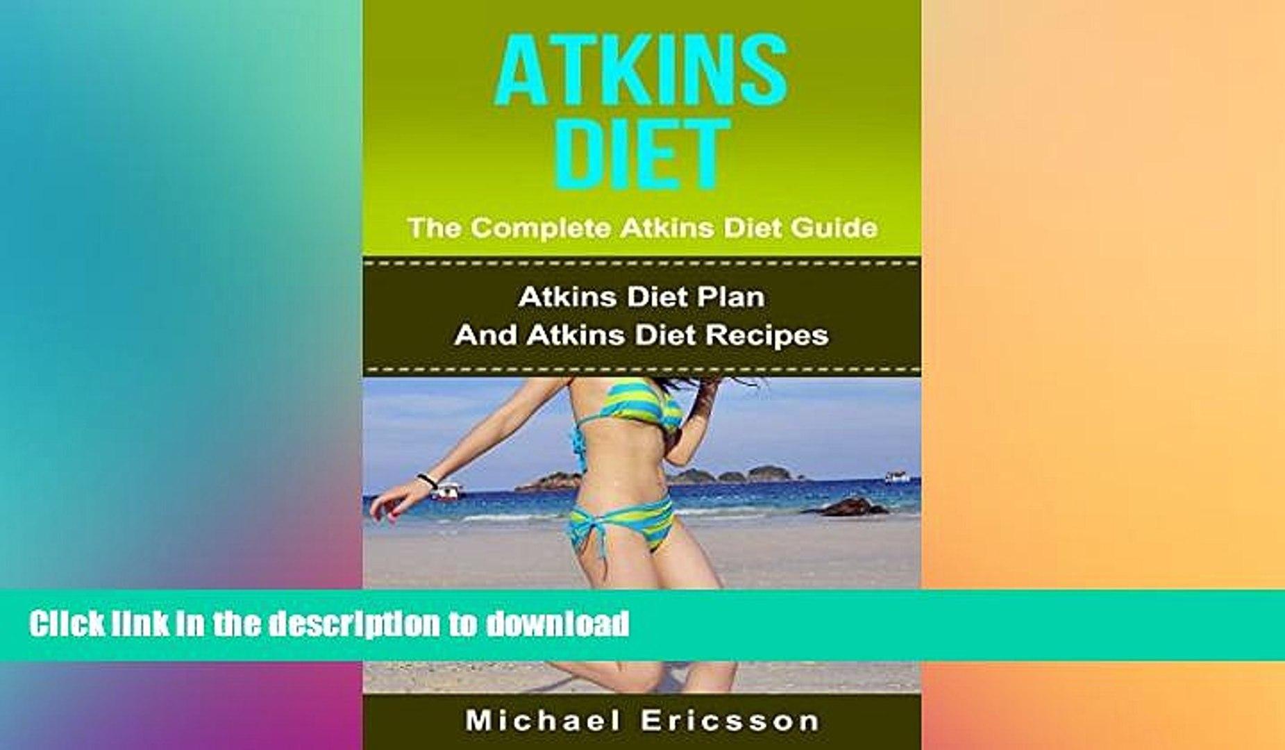 READ  ATKINS DIET: The Complete Atkins Diet Guide: Atkins Diet Plan And Atkins Diet Recipes To