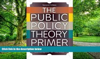 Big Deals  The Public Policy Theory Primer  Best Seller Books Most Wanted