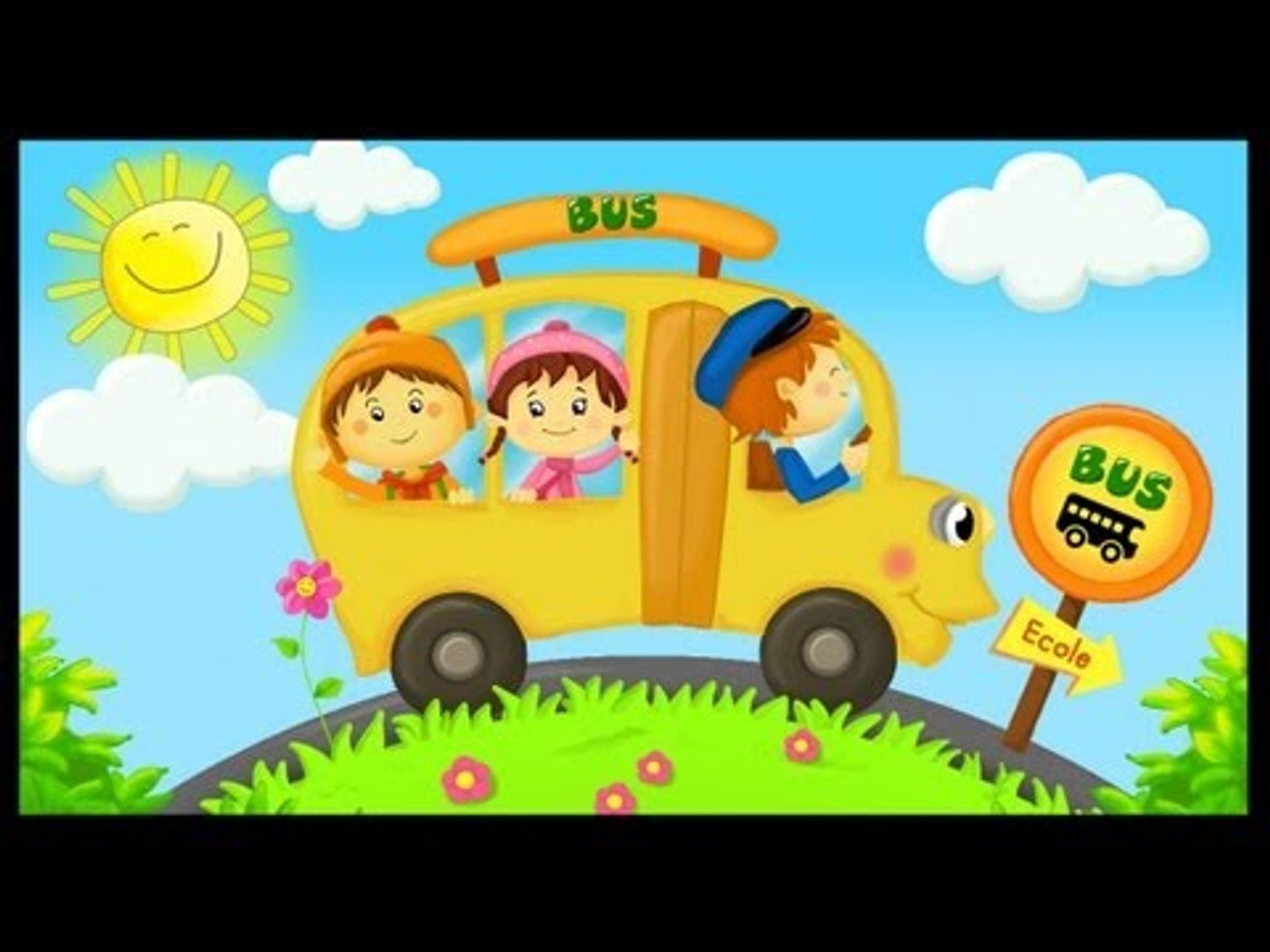 The Wheels On The Bus Comptine En Anglais