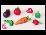 Pâte à modeler Les légumes - Apprendre les légumes aux enfants