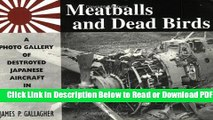 [PDF] Meatballs and Dead Birds: A Photo Gallery of Destroyed Japanese Aircraft in World War II