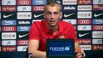 Jasper Cillessen proud to be a Barça player