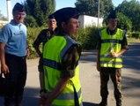 Formation de réservistes de la gendarmerie à Beynes, dans les Yvelines