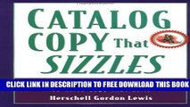 New Book Catalog Copy That Sizzles