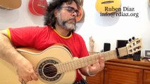 Testing the new Barbero negra 1945m Shedua Brazilian Mahogany fretboard/Andalusian Guitars Endorsed by Paco de Lucia