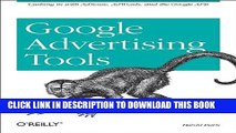 New Book Google Advertising Tools: Cashing in with AdSense, AdWords, and the Google APIs