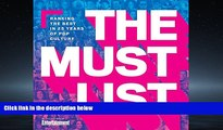 Online eBook The Must List: Ranking the Best in 25 Years of Pop Culture